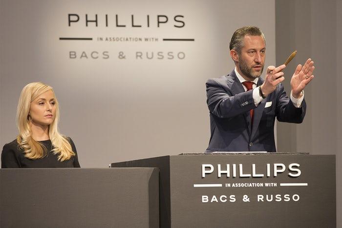 Aurel Bacs, star des ventes horlogères
