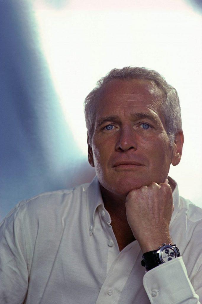 Paul Newman et sa Rolex Daytona au poignet.