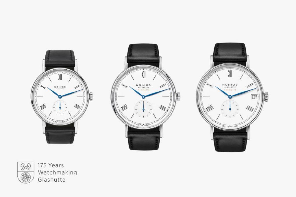 Trois montres pour célébrer 175 ans d'excellence horlogère allemande